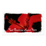 Hibiscus Detail Business Card Template