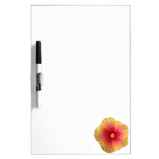 Hibiscus Dry Erase Board