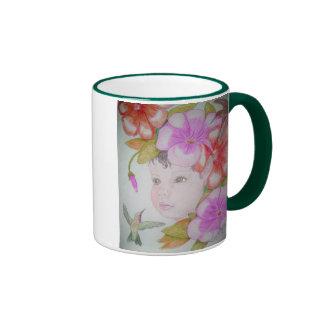 Hibiscus Fairy Ringer Mug