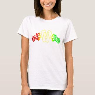 Hibiscus Flip-Flop T-Shirt