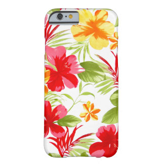 Hibiscus Floral Fiesta Barely There iPhone 6 Case