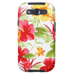 Hibiscus Floral Fiesta Galaxy S3 case