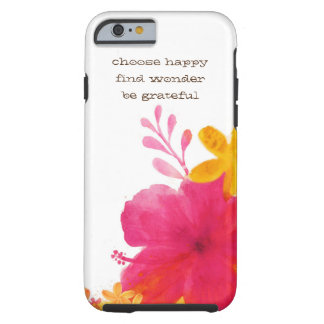 Hibiscus Floral Iphone 6s Cover