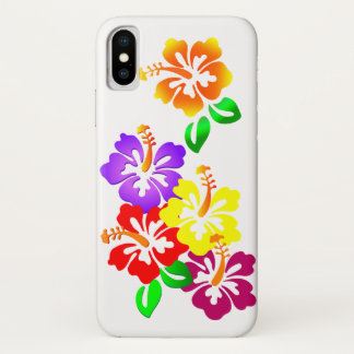 Hibiscus Floral iPhone X Case