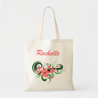 Hibiscus Florist Flower Floral Budget Tote Bag