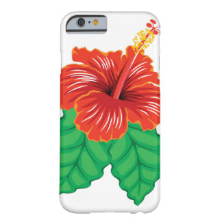 Hibiscus Flower Barely There iPhone 6 Case