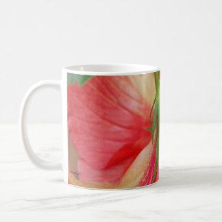 HIbiscus Flower Close-up Classic White Coffee Mug