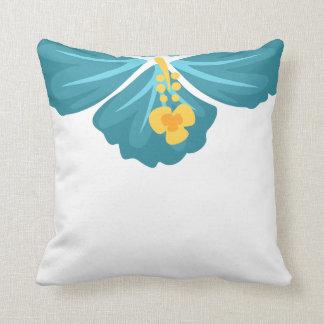 Hibiscus Flower Cushion