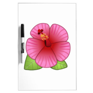 Hibiscus  Flower - Emoji Dry-Erase Board