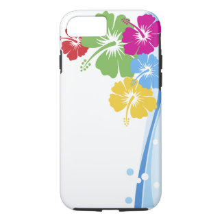 Hibiscus Flower Fashion Fine Floral iPhone 7 Case