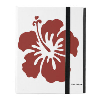 Hibiscus Flower iPad Case