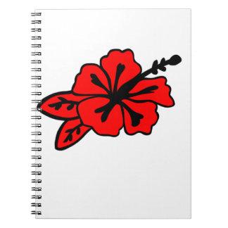 Hibiscus Flower Notebook
