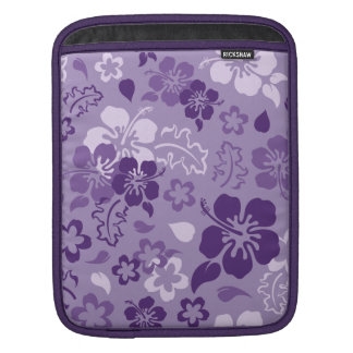Hibiscus Flower Pattern iPad Sleeve
