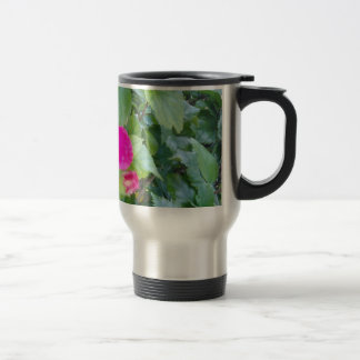 HIBISCUS FLOWER TRAVEL MUG