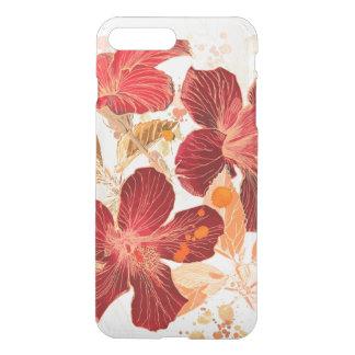 Hibiscus flower - watercolor paint 2 iPhone 8 plus/7 plus case