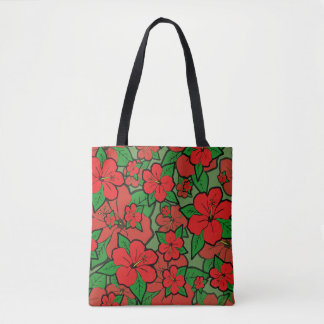 Hibiscus Flowers #1 Tote Bag