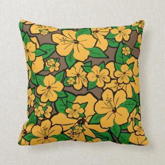 Hibiscus Flowers #3 Cushion