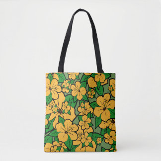 Hibiscus Flowers #3 Tote Bag