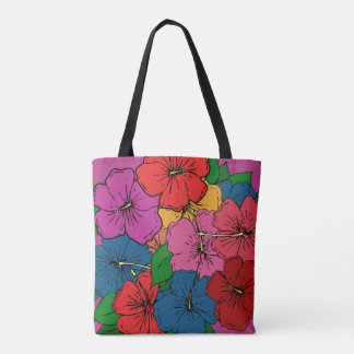 Hibiscus Flowers #5 Tote Bag