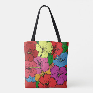 Hibiscus Flowers #6 Tote Bag