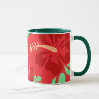 Hibiscus Flowers Mug