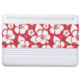 Hibiscus Flowers Pattern Igloo Cool Box