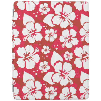 Hibiscus Flowers Pattern iPad Cover