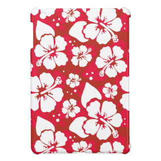 Hibiscus Flowers Pattern iPad Mini Cases