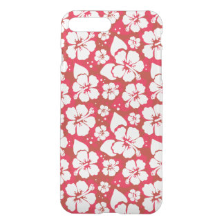Hibiscus Flowers Pattern iPhone 8 Plus/7 Plus Case