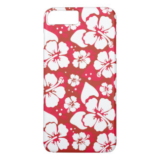 Hibiscus Flowers Pattern iPhone 8 Plus/7 Plus Case