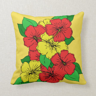 Hibiscus Flowers RY Cushion