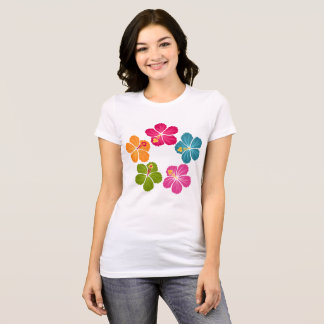 Hibiscus Flowers T-Shirt