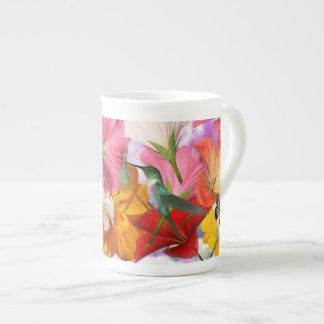 Hibiscus Flowers Tea Cup