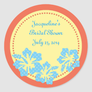 Hibiscus Hawaiian Sticker