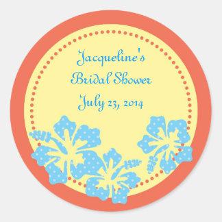 Hibiscus Hawaiian Sticker