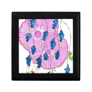 Hibiscus.jpg Small Square Gift Box