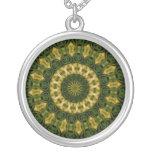 """Hibiscus Kaleidoscope #33"" Necklace"