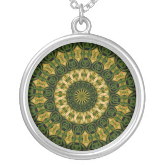 """Hibiscus Kaleidoscope #33"" Necklace"