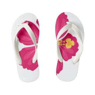 Hibiscus Kid's Flip Flops