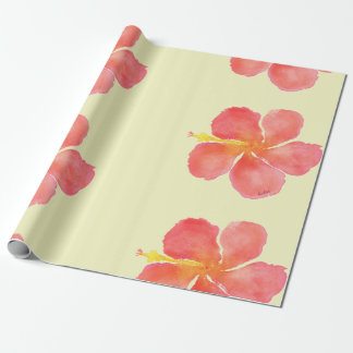 Hibiscus Love Wrapping Paper