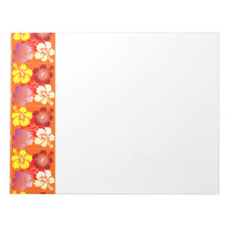 hibiscus note pads