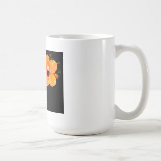Hibiscus Orange The MUSEUM Zazzle Gifts Basic White Mug
