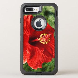 Hibiscus OtterBox Defender iPhone 7 Plus Case