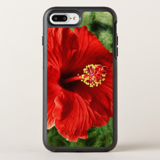 Hibiscus OtterBox Symmetry iPhone 7 Plus Case
