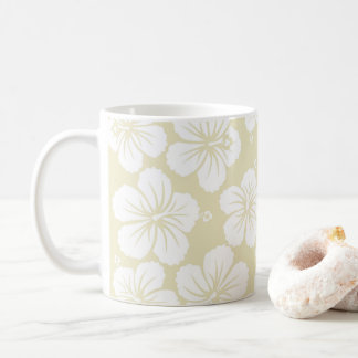 Hibiscus Pattern Coffee Mug