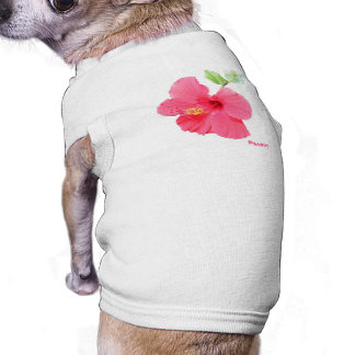 Hibiscus Pet T-shirt