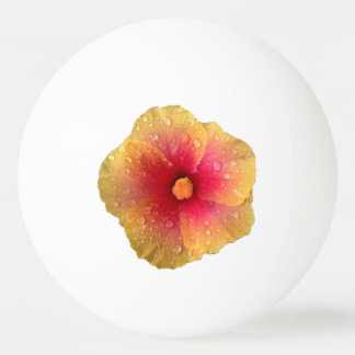 Hibiscus Ping Pong Ball