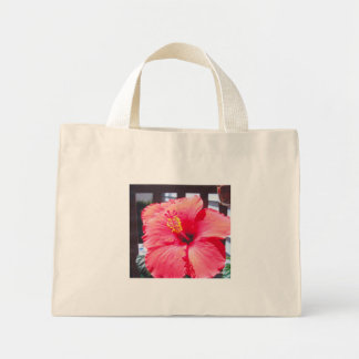 Hibiscus Plant Mini Tote Bag