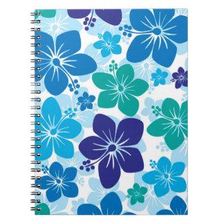 Hibiscus Spiral Notebooks