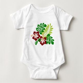 Hibiscus super Doper Image Baby Bodysuit